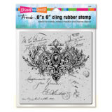 Stampendous 6CR006 Ornate Scroll cling stamp