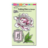 Stampendous DCS5103 Fresh Peony die cutting set