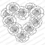 Impression Obsession – H13628 Rose Wreath (cling)