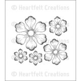 Heartfelt Creations – HCPC3608 Arianna Blooms stamp set.. out of stock
