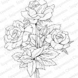 Impression Obsession – K16341 Rose Bouquet (cling)