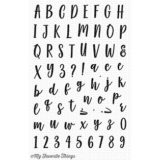 My Favorite Things – Mini Well Connected Alphabet and Numbers