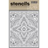 Hero Arts – SA064 Glorious Petal Stencil – sold out