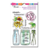 Stampendous SSC1221 Bouquets For You (clear stamp set)