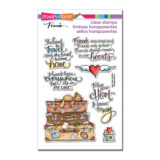 Stampendous SSC1254 Travel Home (clear stamp set)