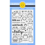 Sunny Studio Stamps – SSCL133 Baby Bear
