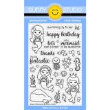 Sunny Studio Stamps – SSCL157 Magical Mermaids