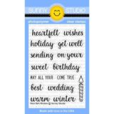 Sunny Studio Stamps – SSCL163 Heartfelt Wishes