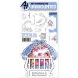 Art Impressions – 4852 Welcome Little One (trifold stamp and die set)