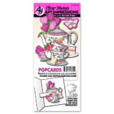 Art Impressions – 4942 Tea Party Popcard – out of stock