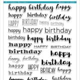 Altenew – Birthday Builder stamp set – out of stock