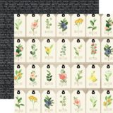Carta Bella – Spring Market D/S Paper – Floral Tags (CBSM012)- out of stock