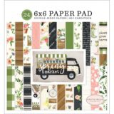 Carta Bella – Spring Market 6×6″ paper pad, 24 pages (CBSM8023) – sold out