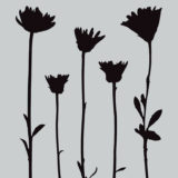 Darkroom Door Stencil – DDSS004 – Wildflowers (small) – out of stock