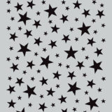 Darkroom Door Stencil – DDSS012 Starry Night (small) – out of stock