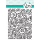 Catherine Pooler Designs – Doodle Garden Background Stamp – out of stock