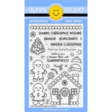 Sunny Stamp Studio – Jolly Gingerbread (stamp and die bundle) – sold out