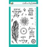 Catherine Pooler Designs – Zen Feathers (stamp and die bundle) – sold out