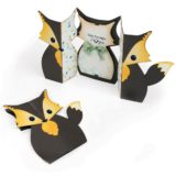 Sizzix 661137 Fox Label Fold-A-Long die set.. out of stock