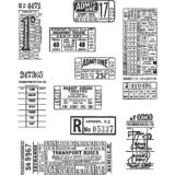 Tim Holtz/Stampers Anonymous CMS337 Ticket Booth