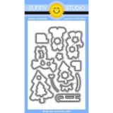 Sunny Studio Stamps – Gleeful Reindeer die set- sold out