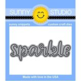 Sunny Studio Stamps – Sparkle word die.. sold out