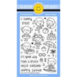 Sunny Studio Stamps – Beach Babies stamp set
