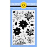 Sunny Studio Stamps – Petite Poinsettias stamp and die bundle – sold out