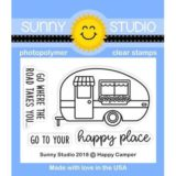 Sunny Studio Stamps – Happy Camper (stamp and die bundle) – sold out