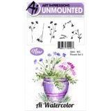 Art Impressions – WC5008 Watercolour Flower Set 3