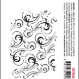 Darkroom Door – DDTS038 Swirls Texture Stamp