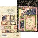 Graphic45 G4501701 Floral Shoppe Ephemera Cards (16) 4″x6″ & (16) 3″x4″- sold out