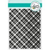 Catherine Pooler – Plaid Background stamp – out of stock