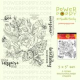 Power Poppy – Artistic Bouquet