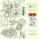 Power Poppy – Hellebore and Hyacinth… out of stock