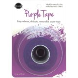 iCraft Removable Purple Tape 1.5″x15yd roll..