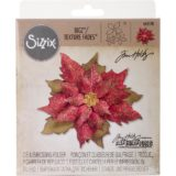 Tim Holtz / Sizzix – 662170 – Layered Tattered Poinsettia die – out of stock