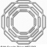 My Favorite Things – Linked Octagon Frames (die set) – out of stock