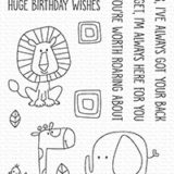 My Favorite Things – Safari Friends stamp set – out of stock