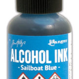 Alcohol Ink – Sailboat Blue