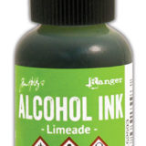 Alcohol Ink – Limeade