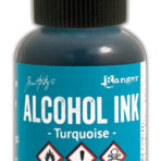 Alcohol Ink – Turquoise