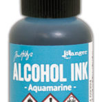 Alcohol Ink – Aquamarine