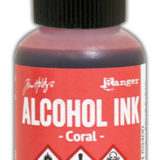 Alcohol Ink – Coral