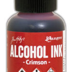 Alcohol Ink – Crimson