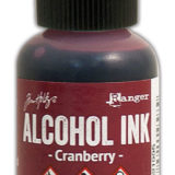 Alcohol Ink – Cranberry