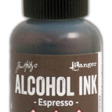 Alcohol Ink – Espresso