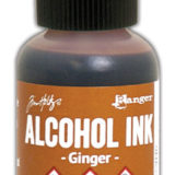 Alcohol Ink – Ginger