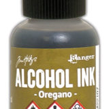Alcohol Ink – Oregano