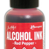 Alcohol Ink – Red Pepper